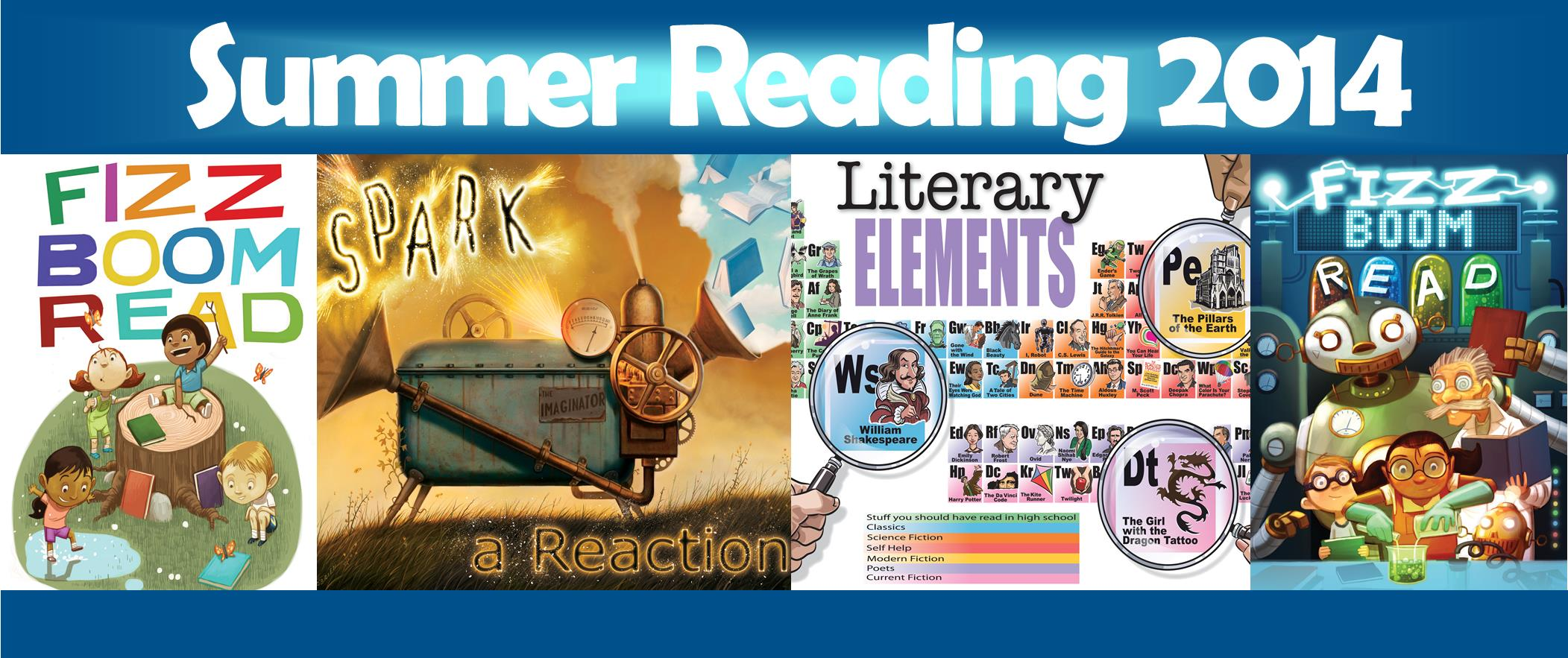 Fizz, Boom, Read! Summer Reading Program 2014