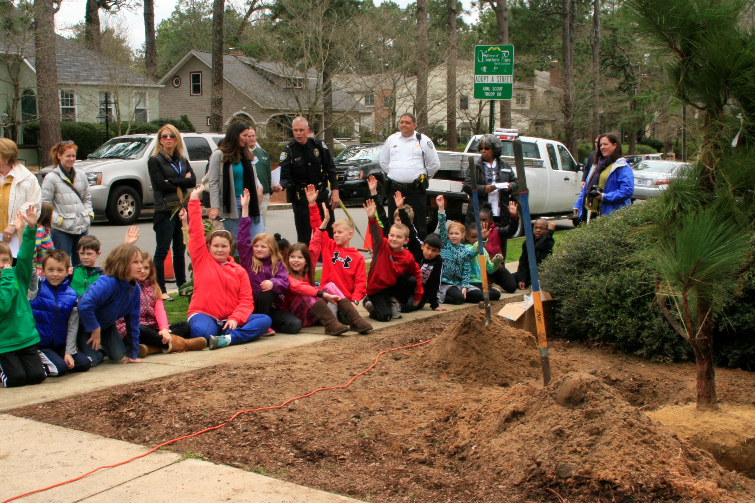 Arbor Day 2015 Students