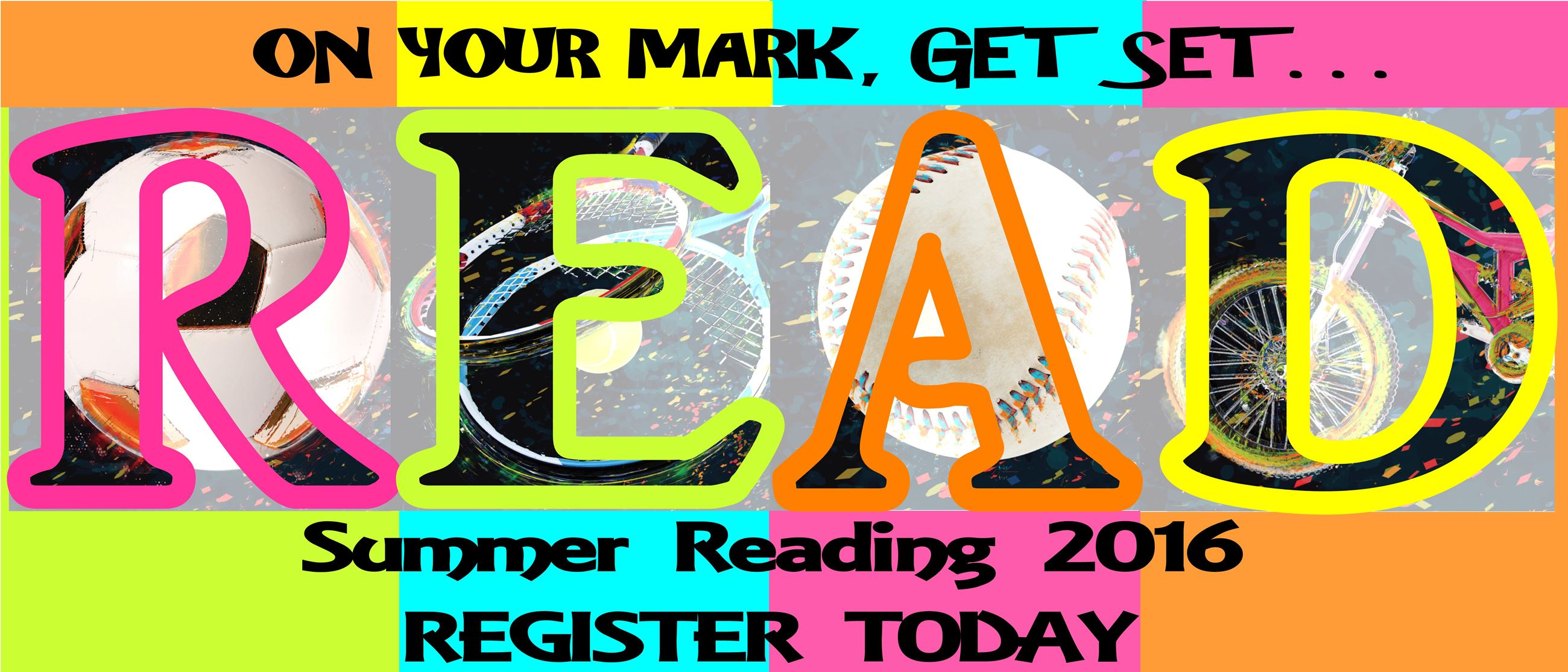 Summer Reading Program 2016 Registration