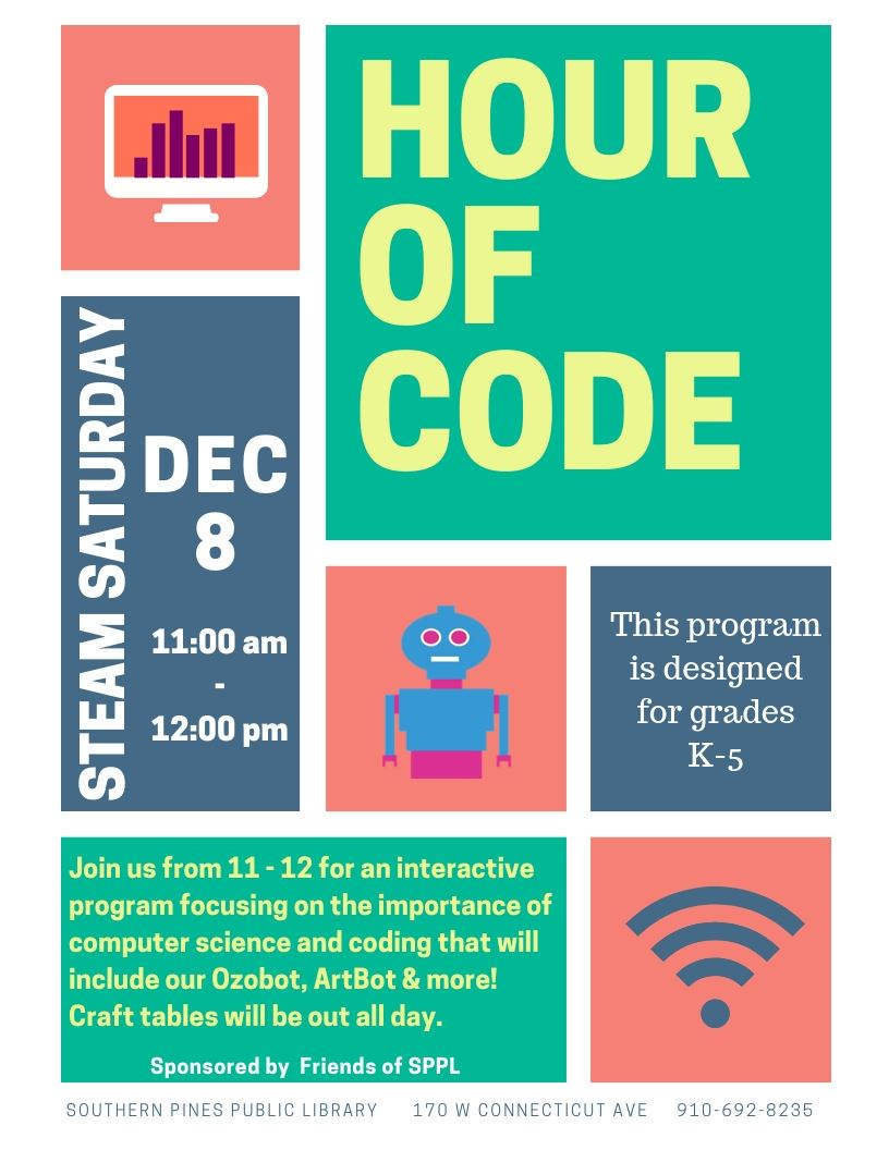 STEAM Sat- Hour of Code