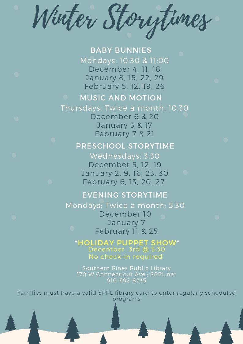 Winter Storytime Program - FINAL