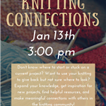 Explorations- Knitting Connections