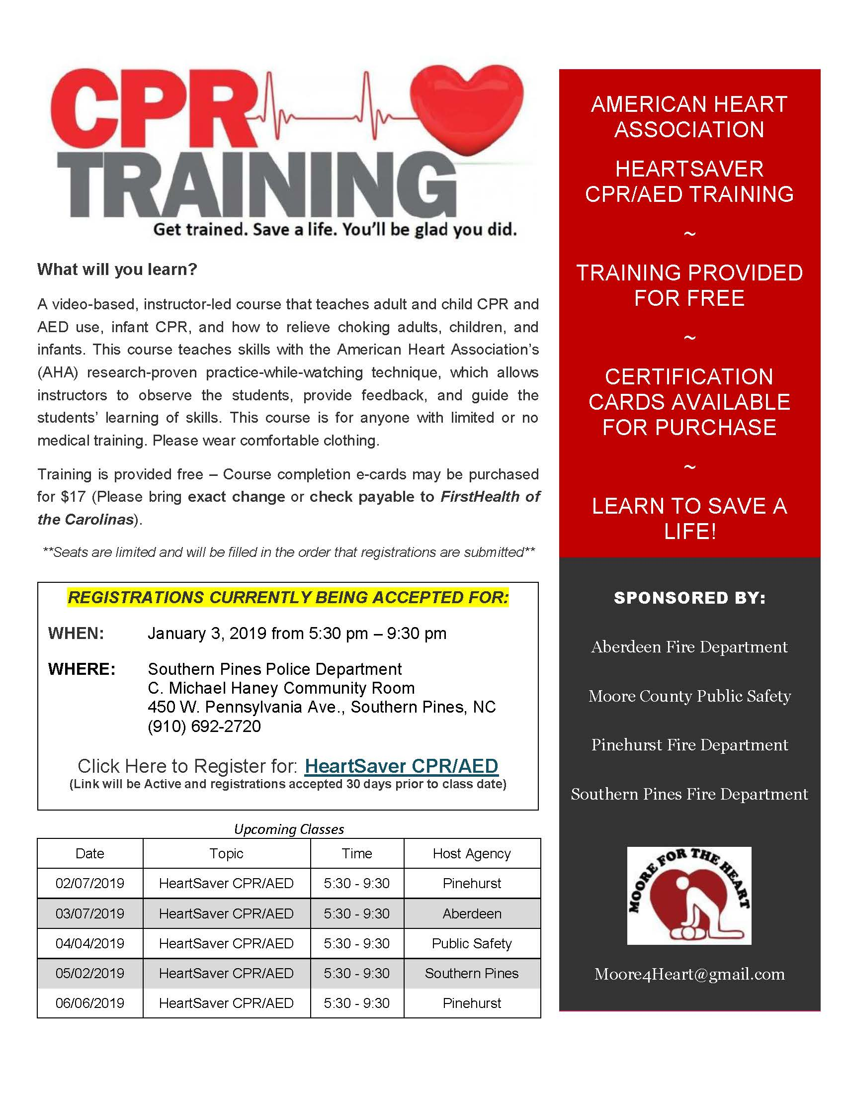 2019 0103 CPR Registration Flyer