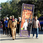 Council and VFW members lead the 2018 MLK March on Broad St. photographer Ted Fitzgerald