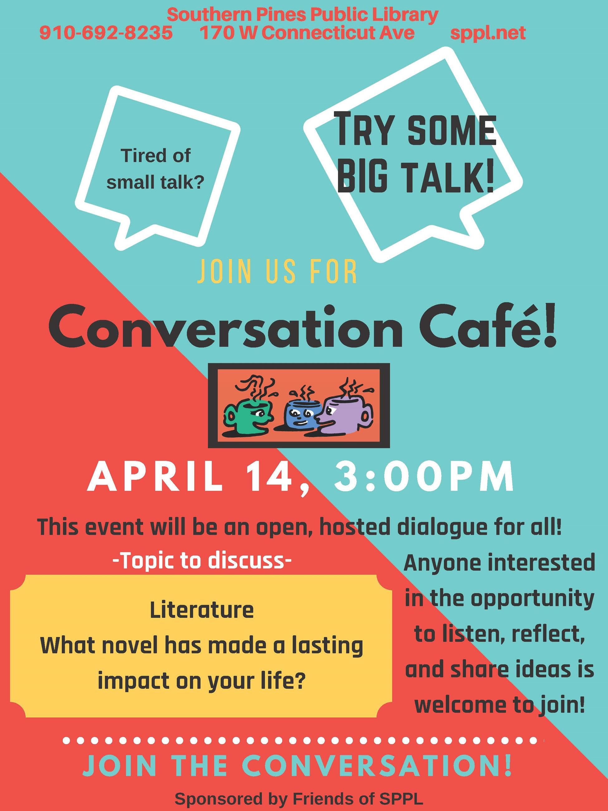 April Convo Cafe
