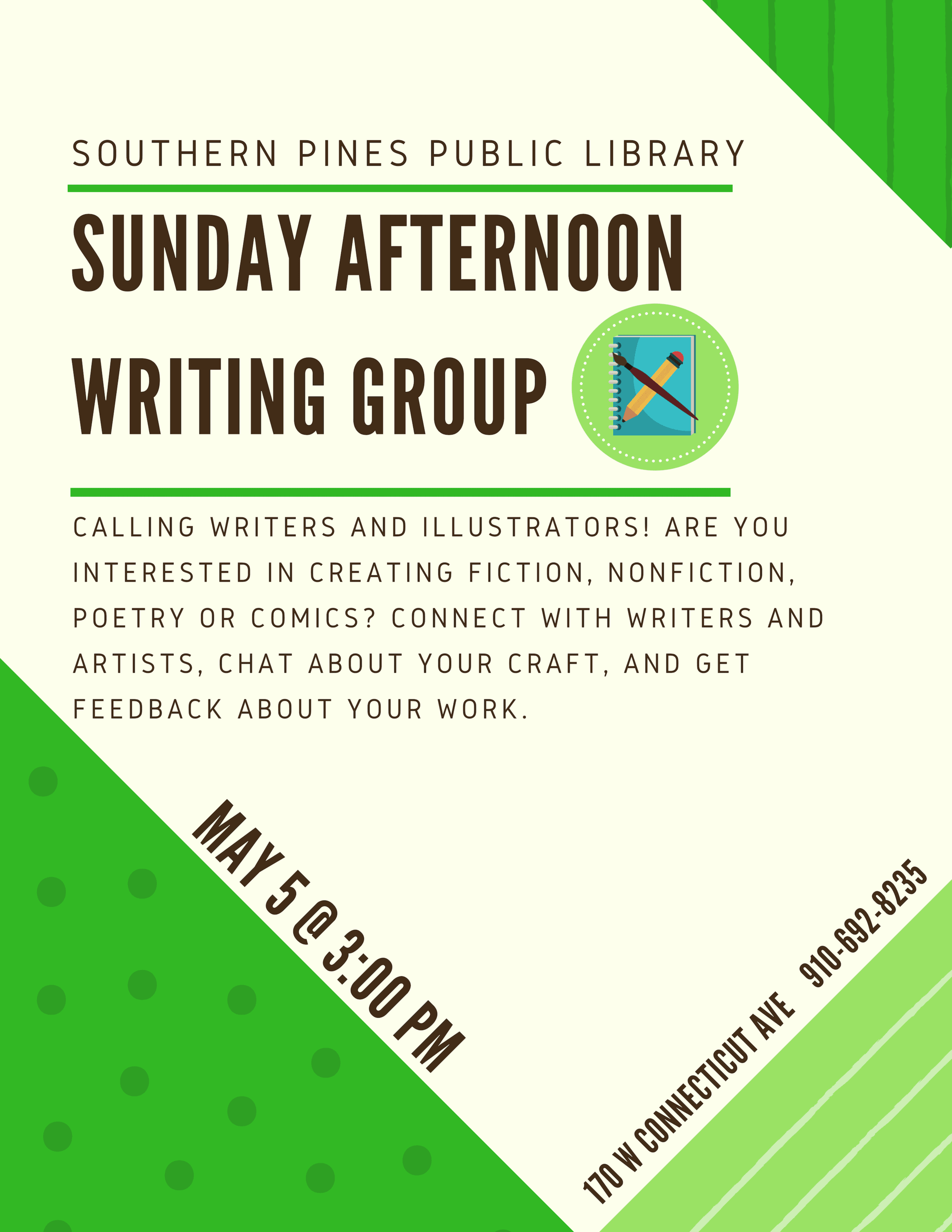 May Writers Group