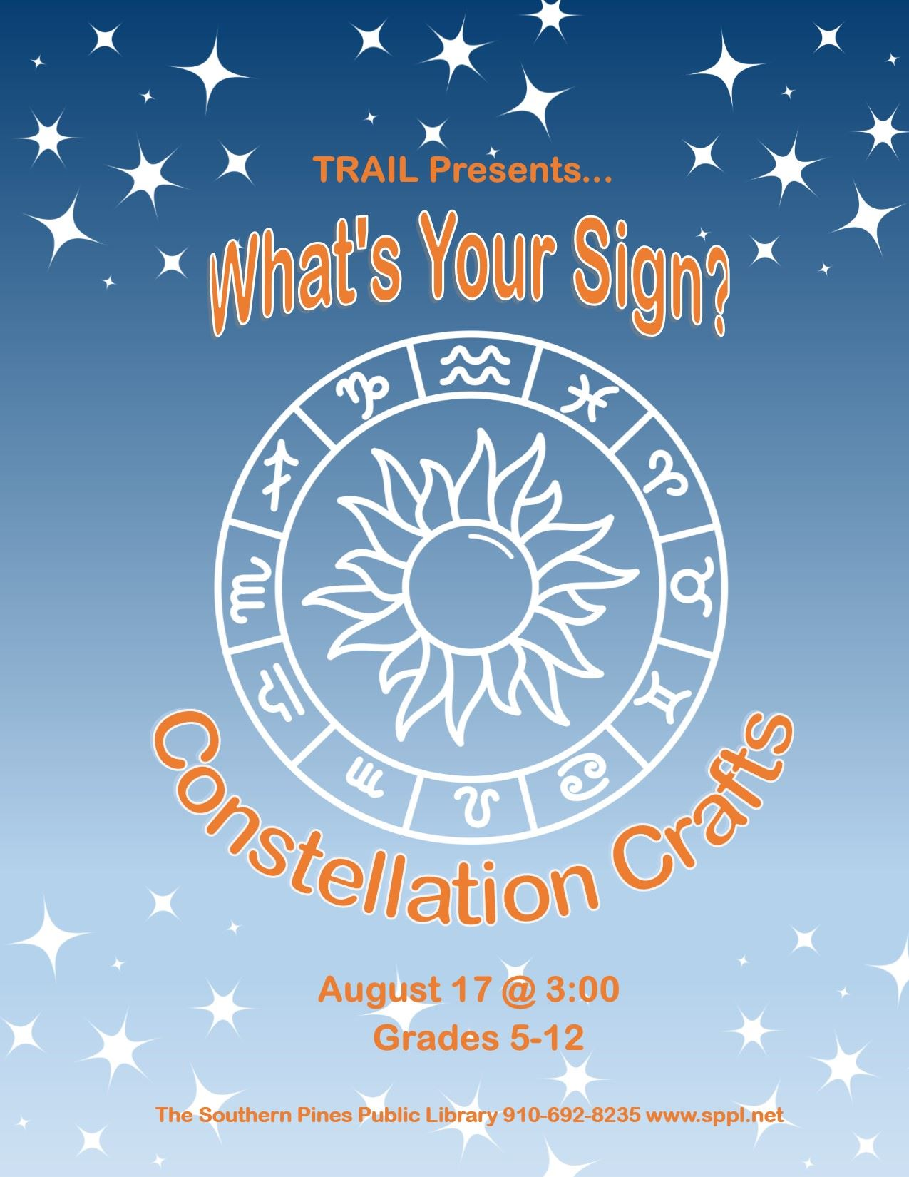 TRAIL- Constellation Crafts