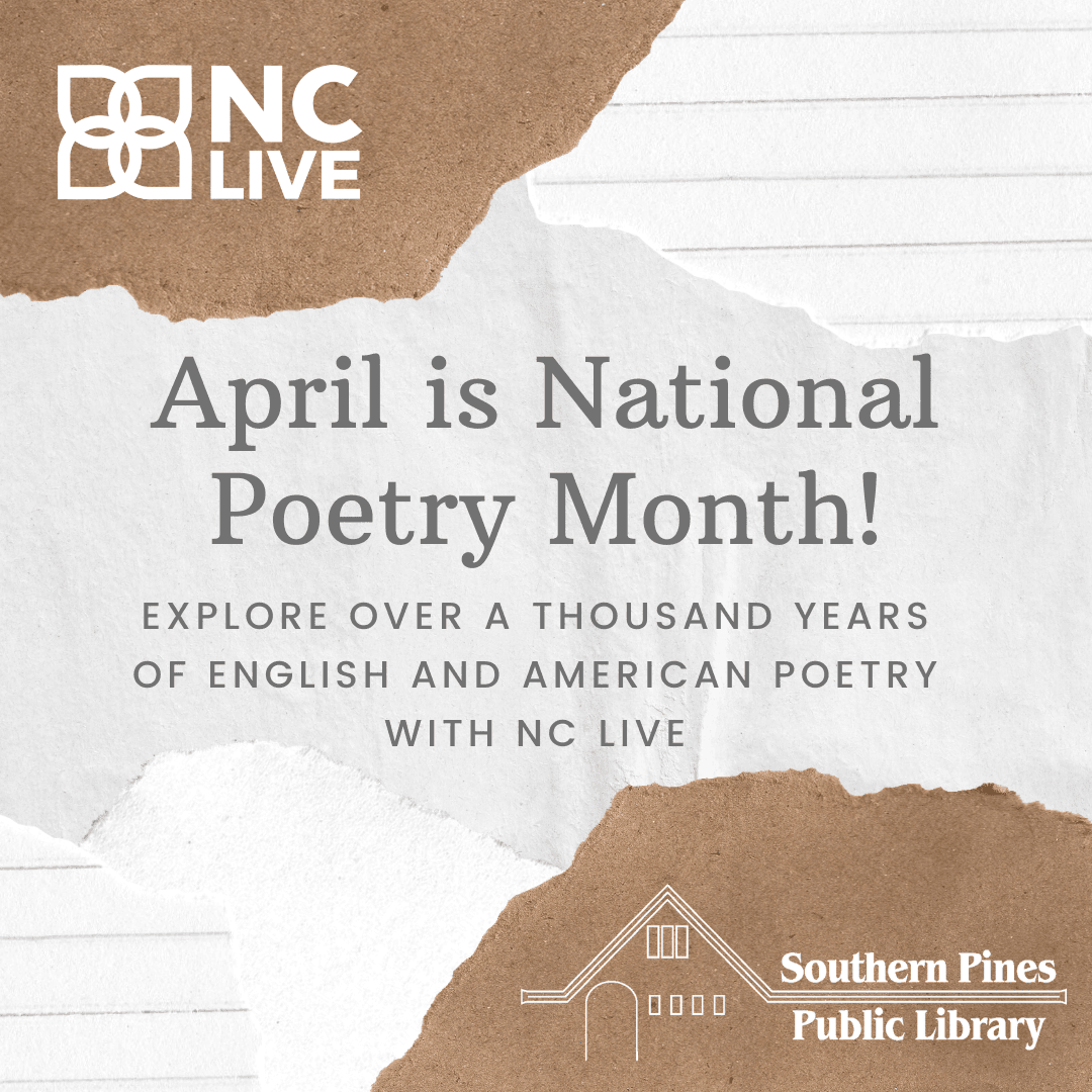 NC LIVE Poetry News Flash