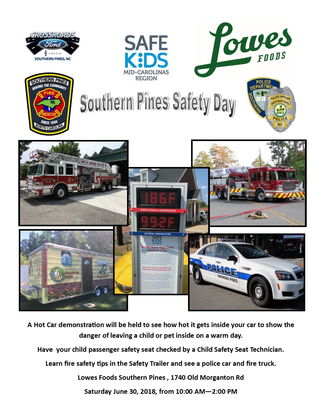 Public Safety Event Lowes