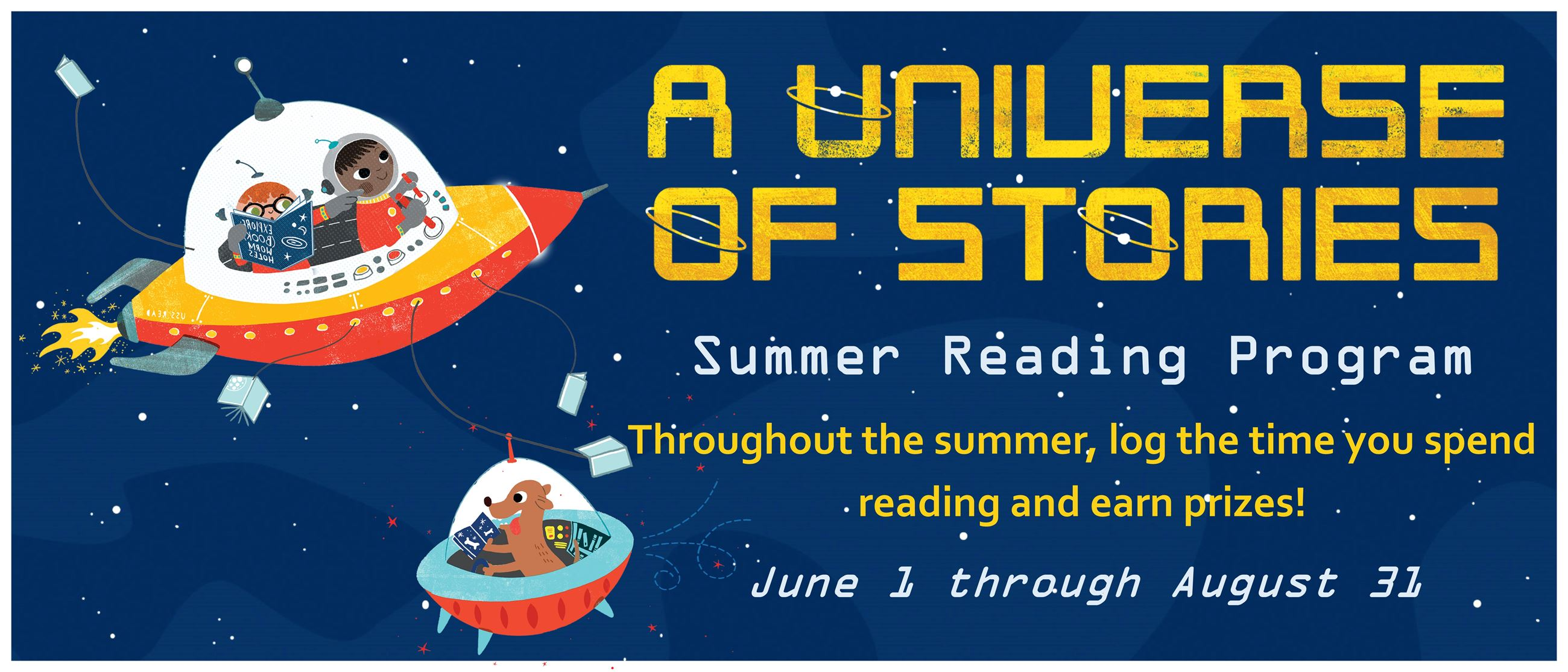 2019 Summer Reading - A Universe of Stories Opens in new window