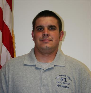 Firefighter Reid Lambert