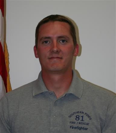 Firefighter Richard Fowler
